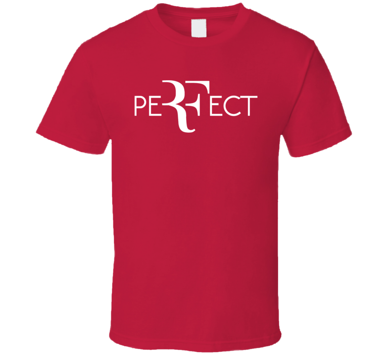 Perfect RF Roger Federer Wimbledon Tennis T Shirt