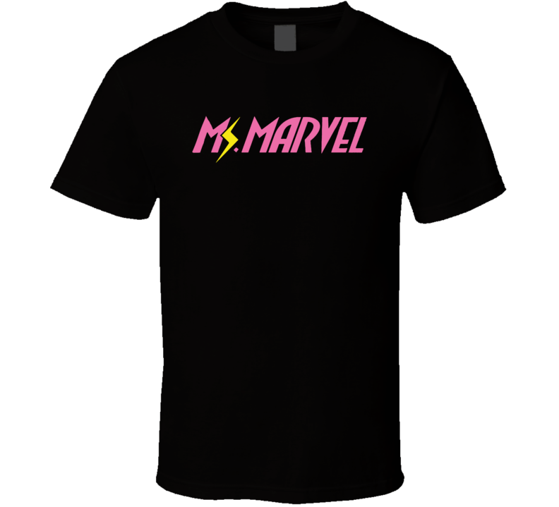 Ms Marvel Kamala Khan Comic Book Fan T Shirt