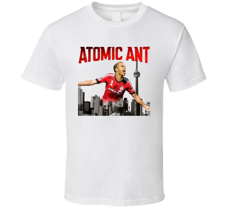 Atomic Ant Sebastian Giovinco Toronto Soccer Fan Poster T Shirt