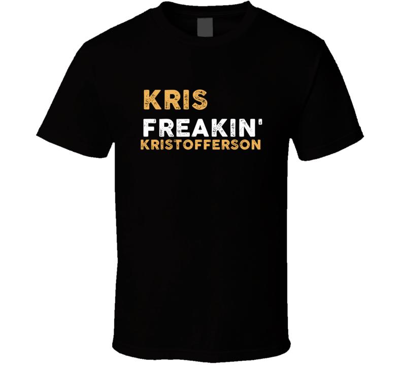 Kris Kristofferson Freakin Cool Trending Country Music T Shirt