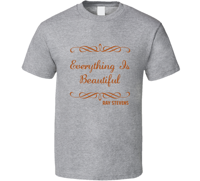 Everything Is Beautiful Ray Stevens Country Lyric T Shirt