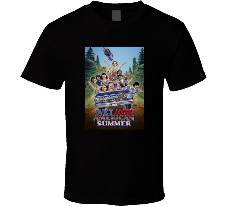Wet Hot American Summer Movie Poster T Shirt