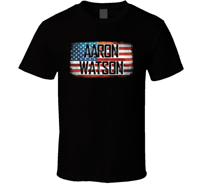 Aaron Watson American Pride Country Music Concert Fan T Shirt