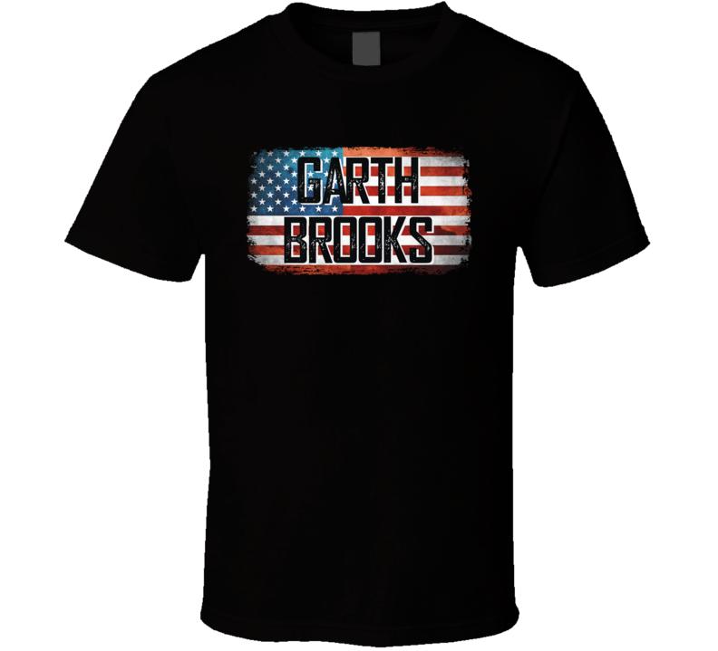 Garth Brooks American Pride Country Music Concert Fan T Shirt