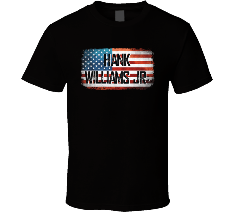 Hank Williams Jr. American Pride Country Music Concert Fan T Shirt