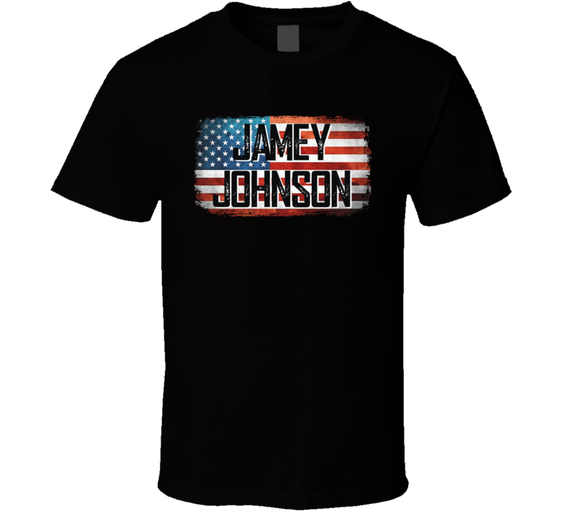 Jamey Johnson American Pride Country Music Concert Fan T Shirt