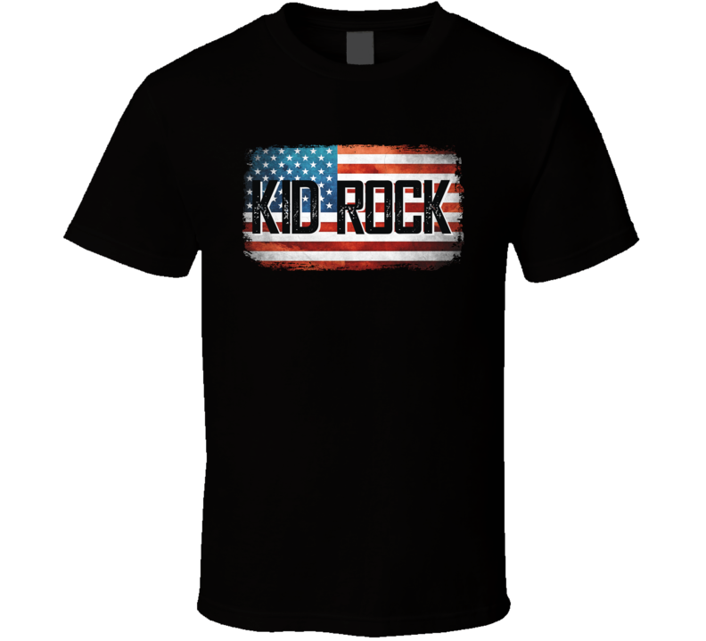 Kid Rock American Pride Country Music Concert Fan T Shirt