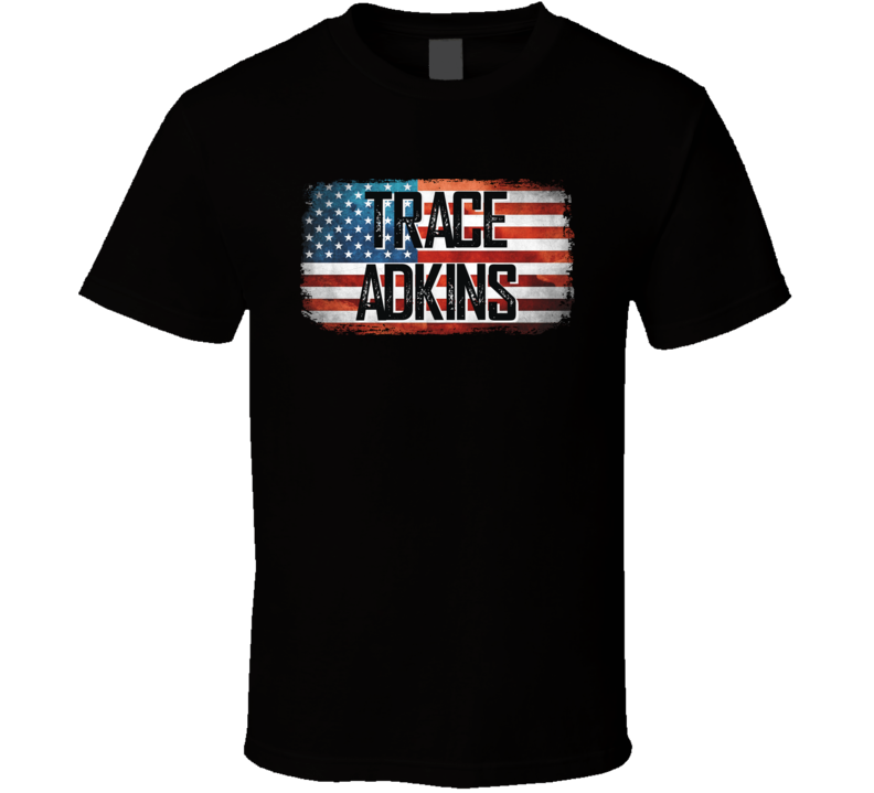 Trace Adkins American Pride Country Music Concert Fan T Shirt