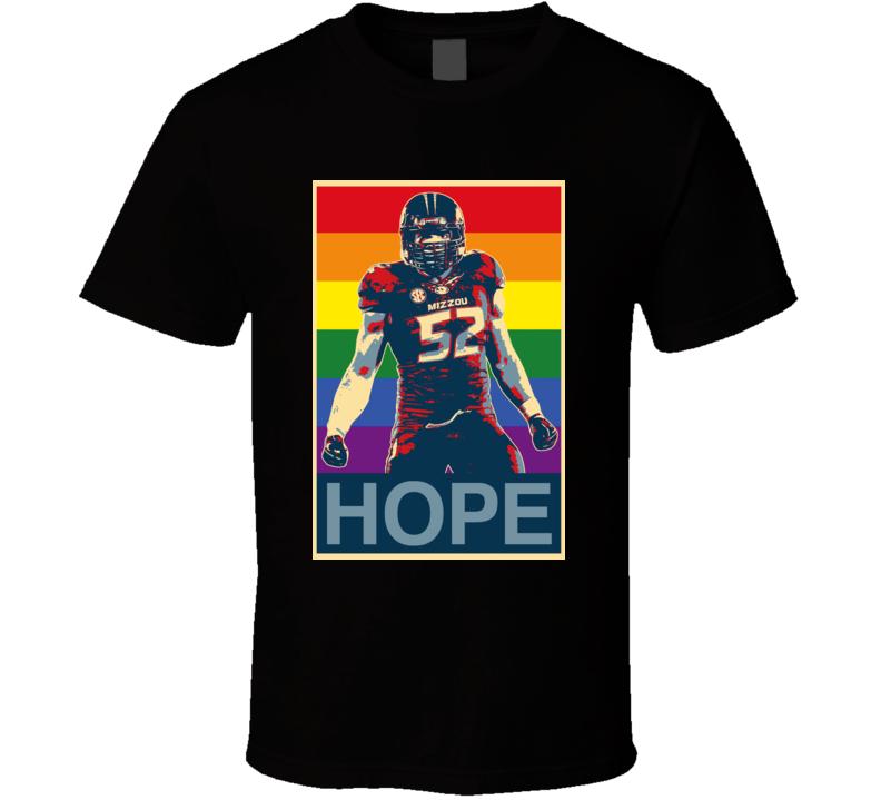 Gay Hope Football Michael Sam Missouri T Shirt