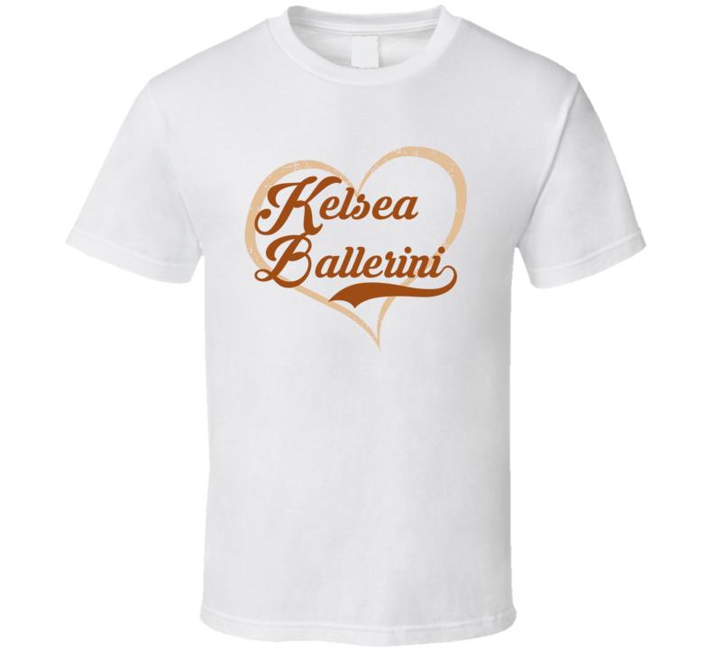 Heart Love Kelsea Ballerini Cool Country Music Fan T Shirt