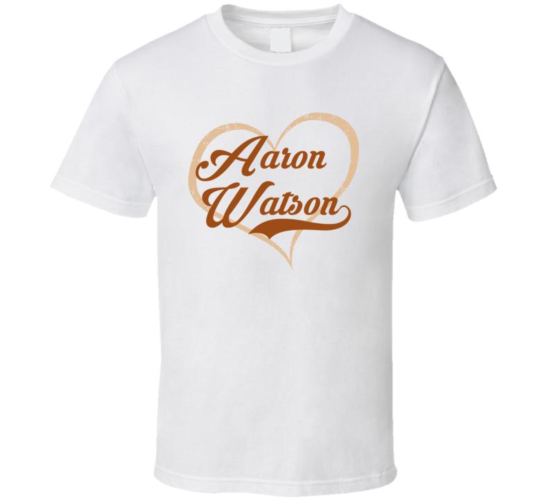 Heart Love Aaron Watson Cool Country Music Fan T Shirt