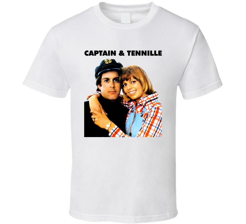70s Music Captain And Tennille Soft Rock Pop Act Toni Daryl Dragon T Shirt