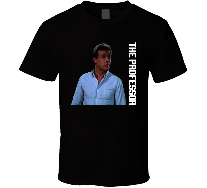 The Professor Gilligan's Island 60's Tv Russell Johnson T Shirt