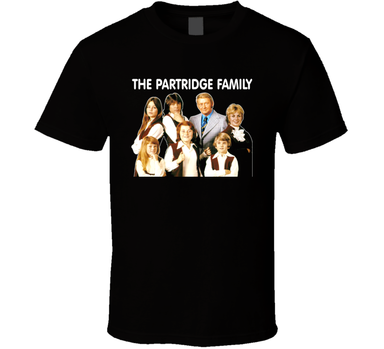 The Partridge Family 70's Comedy Tv Madden Kincaid Cassidy T Shirt