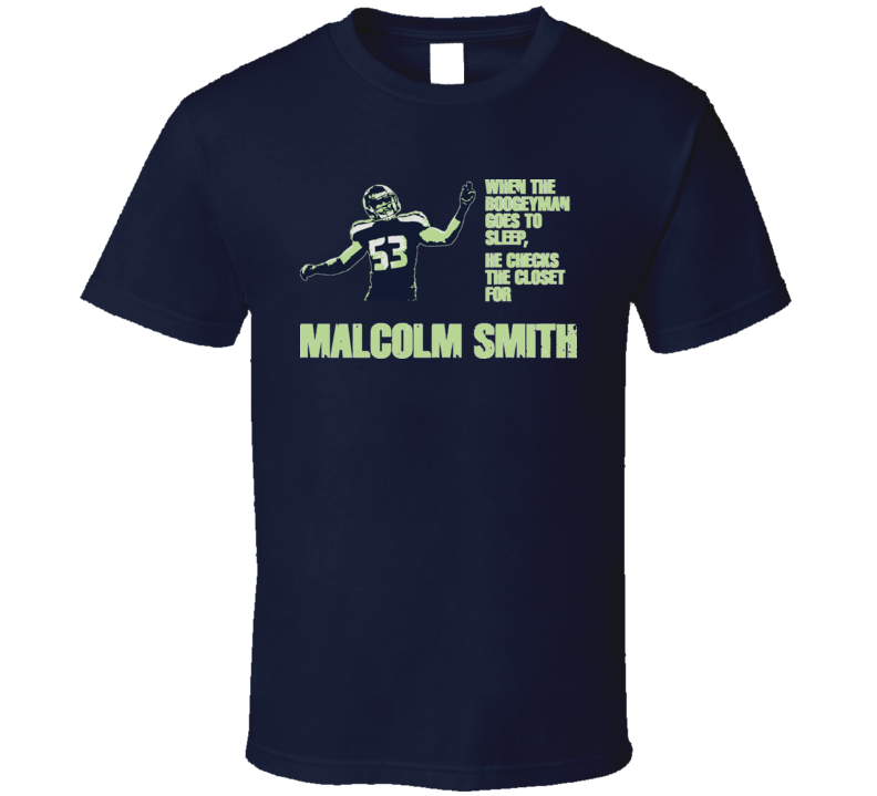 Football Boogeyman Seattle Malcolm Smith T Shirt