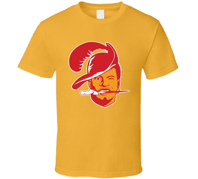 Jameis Winston Retro Tampa Bay Football Fan 70's Logo Throwback T Shirt