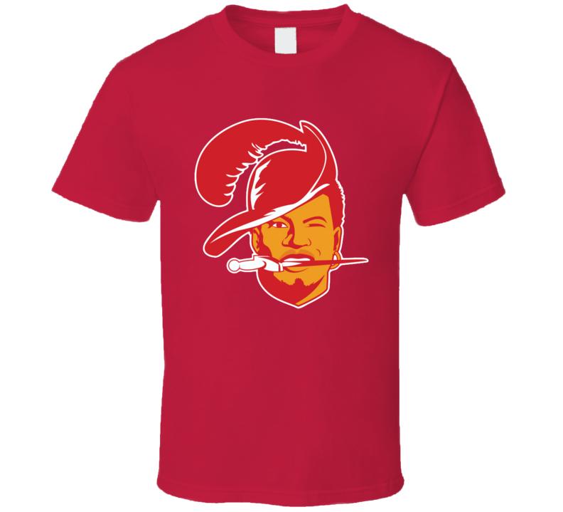 Jameis Winston Retro Tampa Bay Football Fan Logo Throwback T Shirt