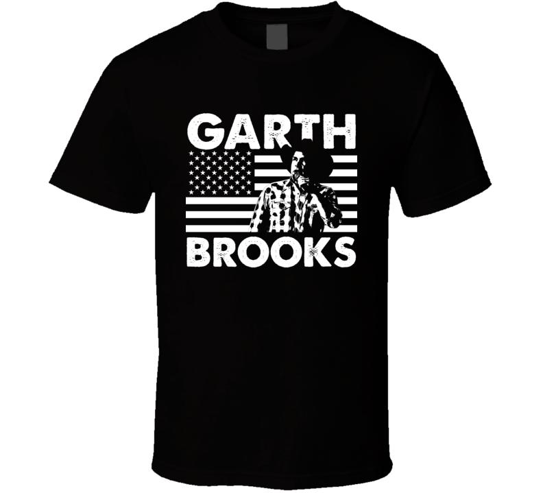 Garth Brooks American Country Singer Music Legend Fan T Shirt