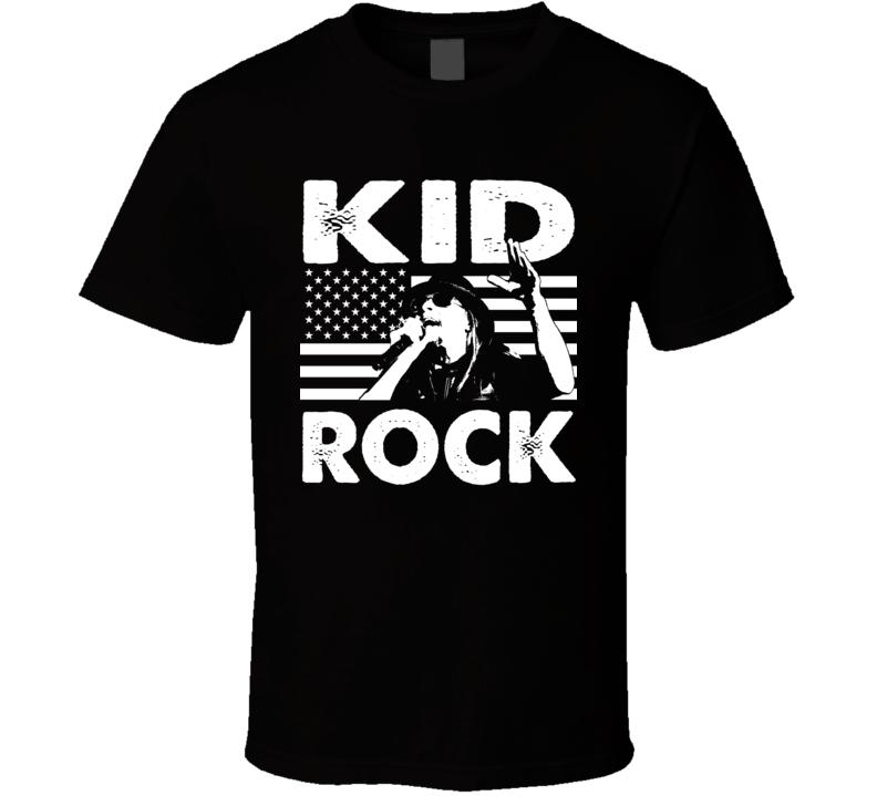 Kid Rock American Country Singer Music Legend Fan T Shirt