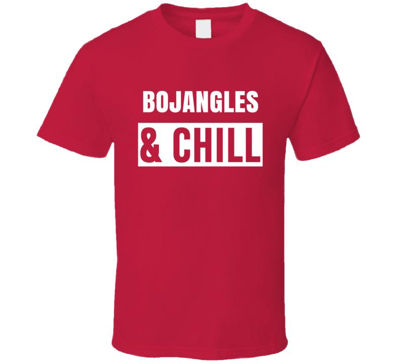 Bojangles And Chill Funny Trending Netflix Parody Gift T Shirt