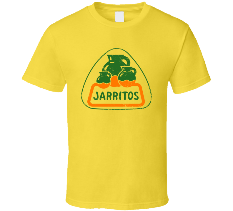 Jarritos Mexico Mexican Soda Distressed Logo T Shirt