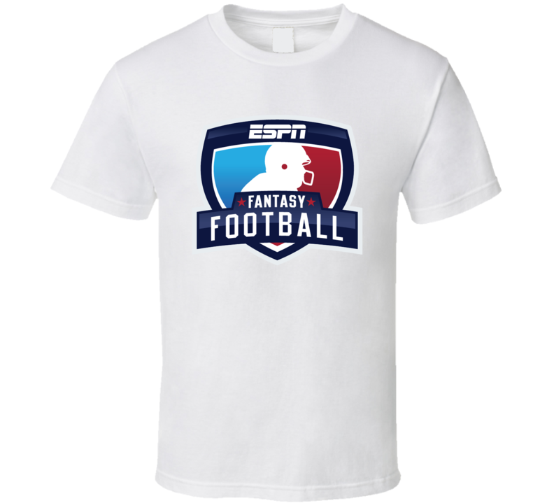 ESPN Fantasy Football League FFL Funny Sports Parody T Shirt