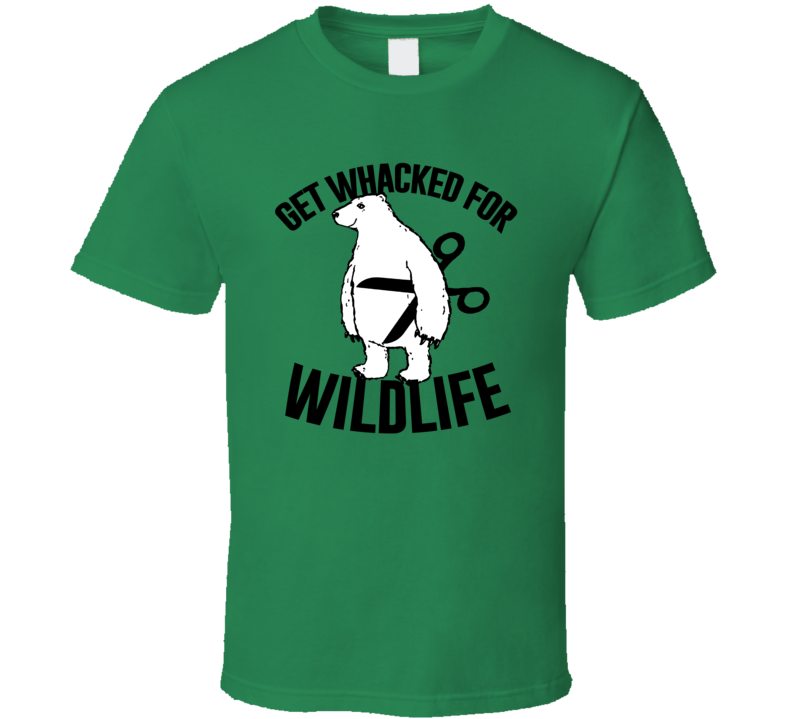 Get Wacked For Wildlife Funny World Vasectomy Day T Shirt