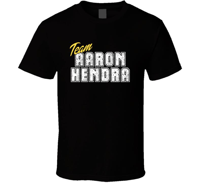 Team Aaron Hendra Cool Funny Trending Celeb Fan Gift T Shirt