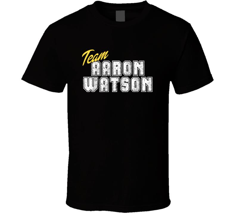 Team Aaron Watson Cool Funny Trending Celeb Fan Gift T Shirt