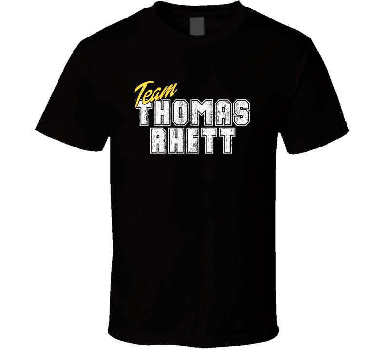 Team Thomas Rhett Cool Funny Trending Celeb Fan Gift T Shirt