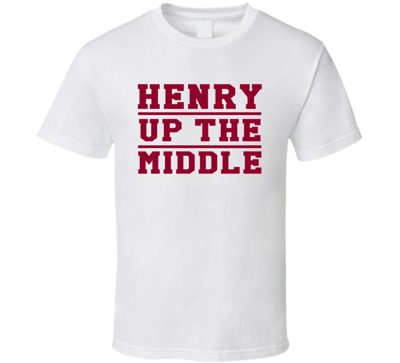 Derrick Henry Up The Middle Alabama Football Trending Fan T Shirt