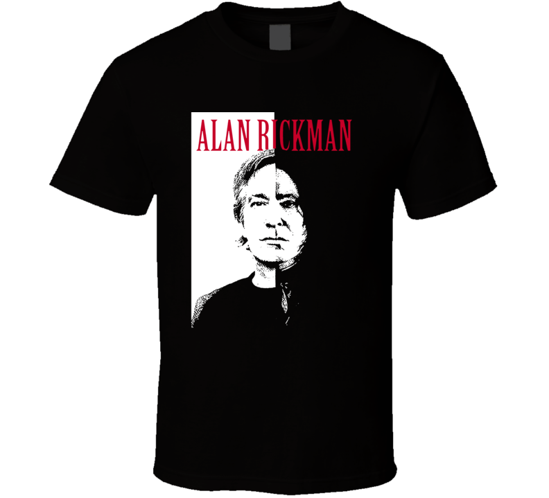 Alan Rickman Die Hard Harry Potter Actor Legend Memorial Fan T Shirt