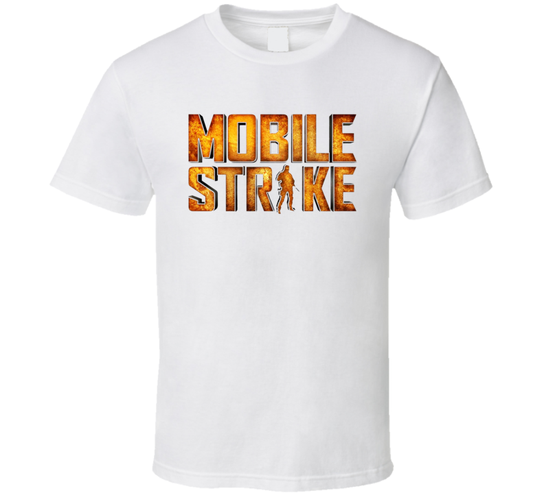 Mobile Strike Online Game App Arnold Schwarzenegger Comercial Addicted Fan T Shirt