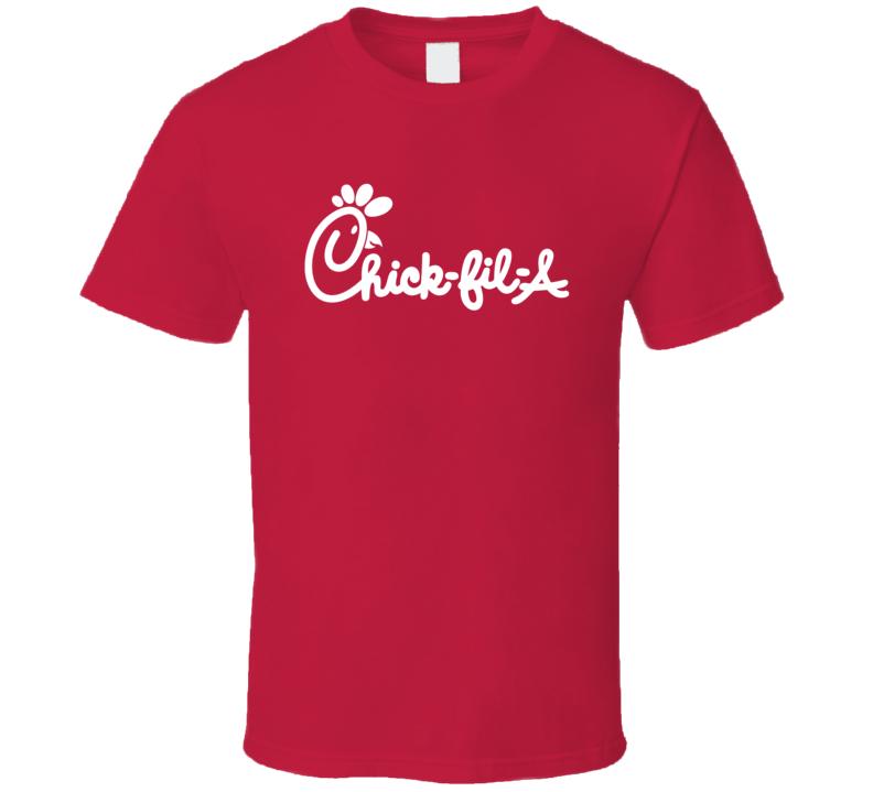 Chick Fil A Fast Food Chicken Sandwich Favorite Restaurant Fan T Shirt