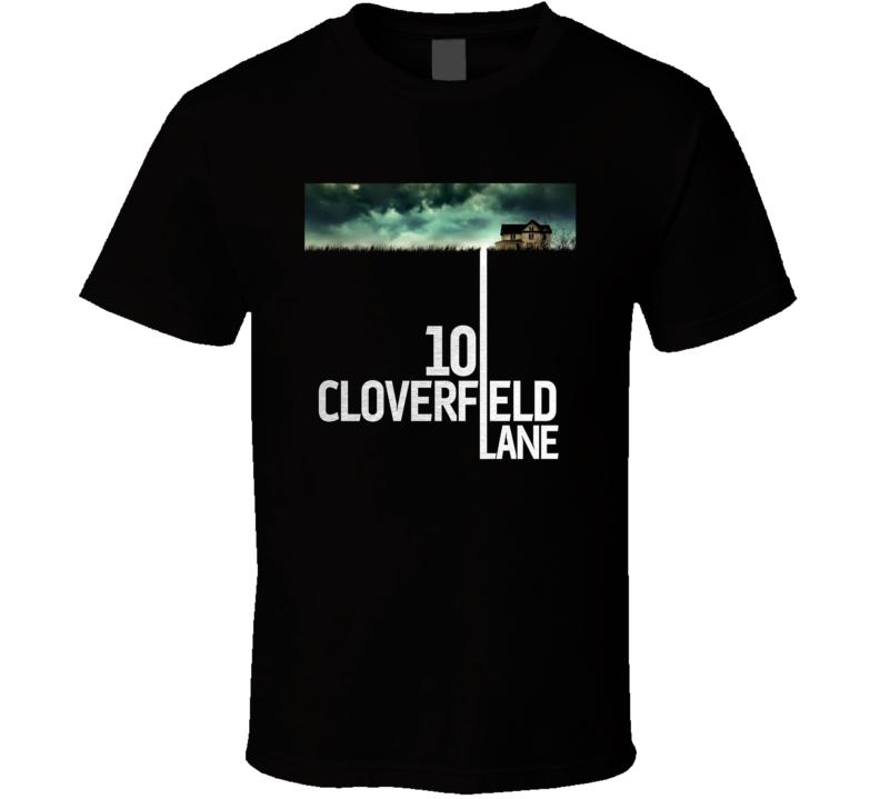 10 Cloverfield Lane 2016 Movie Poster Fan T Shirt
