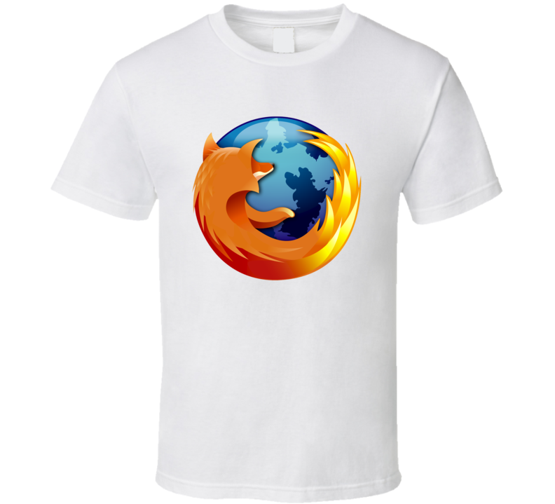 Firefox Internet Browser Cool App Icon T Shirt