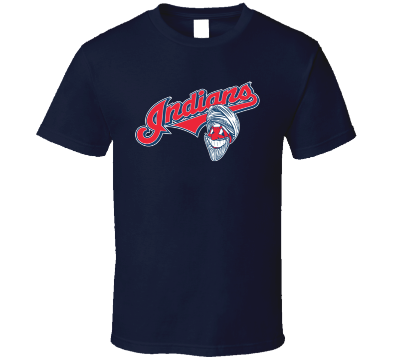 Cleveland Caucasians Parody Non Native American Baseball Team New Logo T Shirt