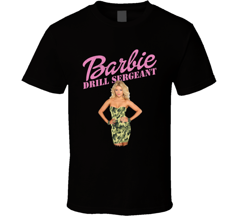Barbie Drill Sergeant Witney Carson Von Miller DWTS Dancing With The Stars Fan T Shirt