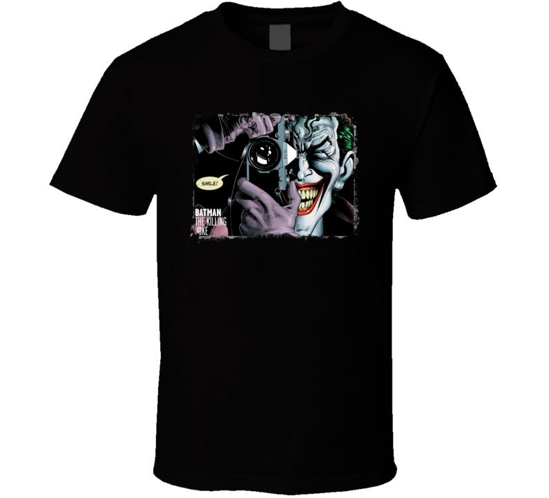 Batman The Killing Joke Joker Comic Cartoon Movie T Shirt