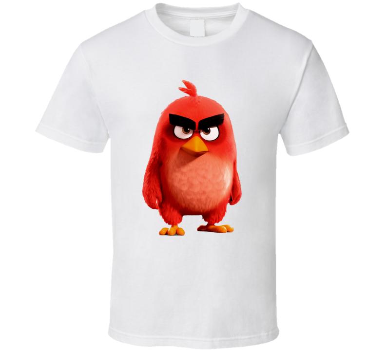 c5cb8887 Angry Birds Movie Red Bird T Shirt
