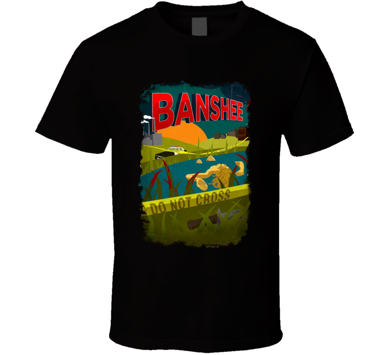 Banshee Action Tv Show Series Poster Fan T Shirt