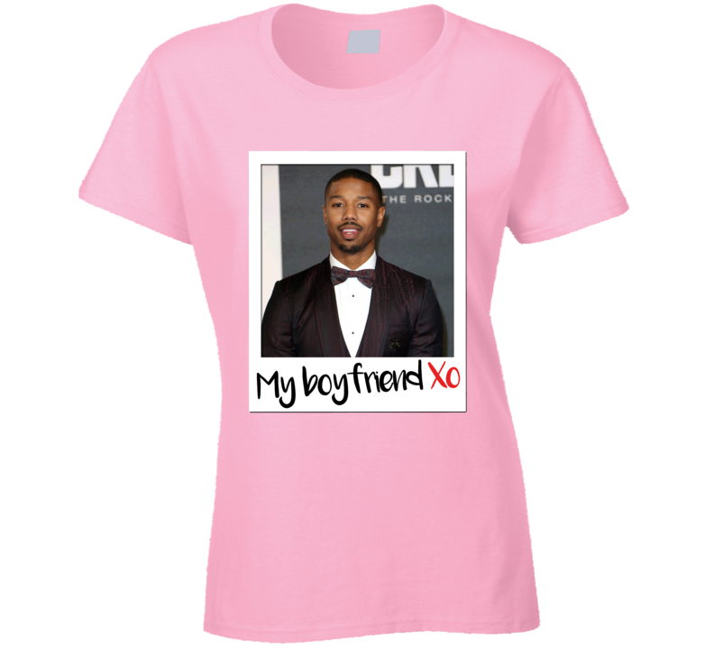 Michael B Jordan Is My Boyfriend Sexy Hot Celebrity Fan T Shirt