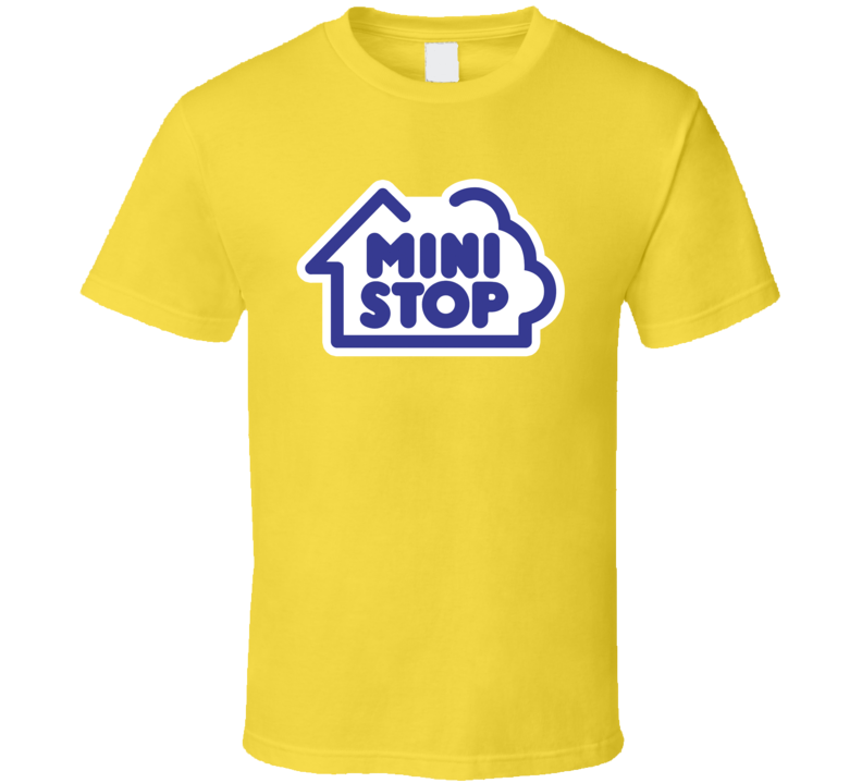 Mini Stop Convenience Store Logo T Shirt
