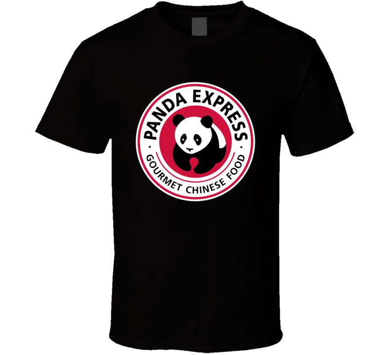 Panda Express Gourmet Chinese Fast Food Restaurant Logo T Shirt