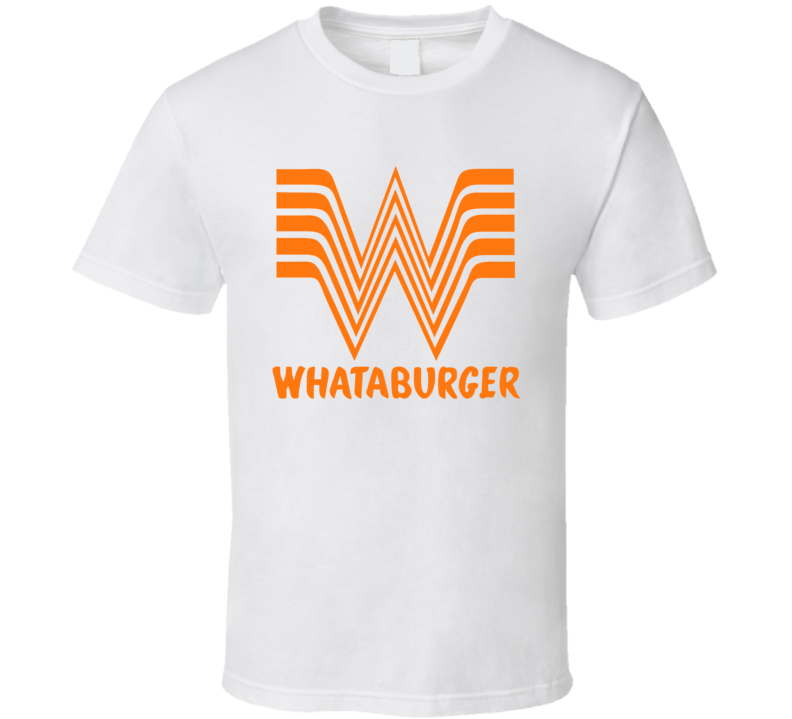 Whataburger Fast Food Restaurant Logo T Shirt