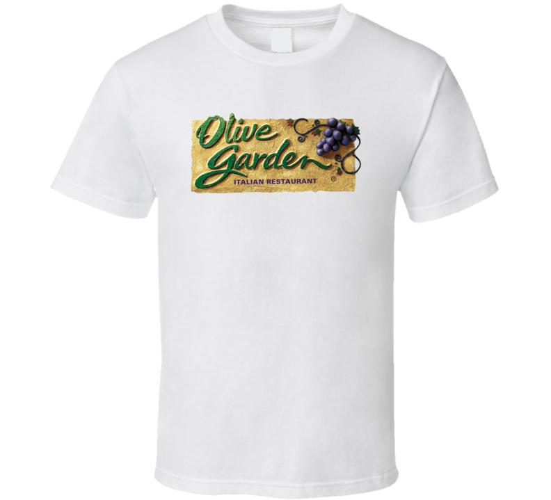 Olive Garden Italian Restaurant Food Logo T Shirt