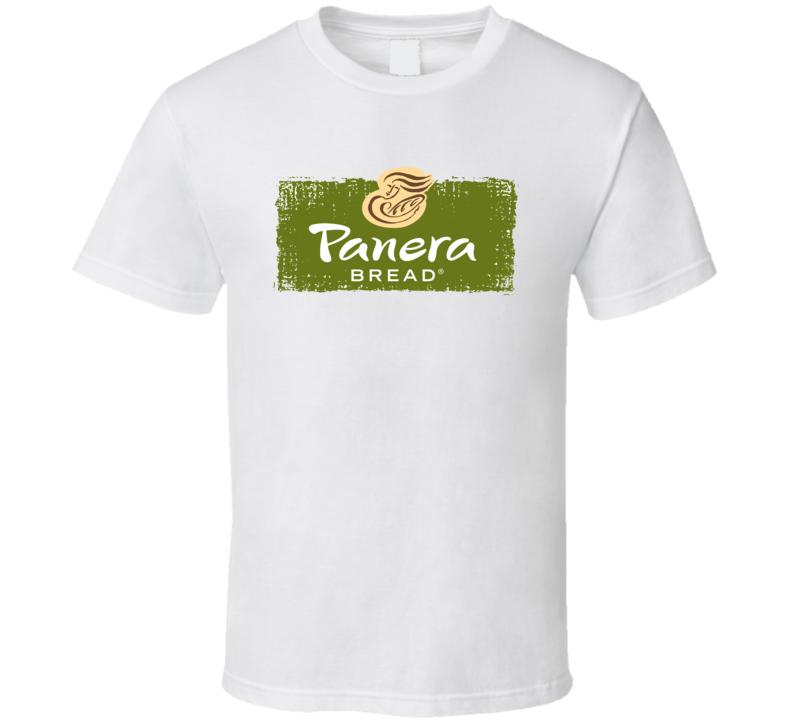Panera Bread Bakery Fast Food Restaurant Logo T Shirt