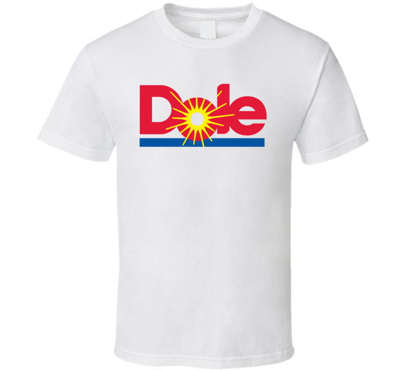 Dole Healthy Juice Fruit Snack Logo T Shirt