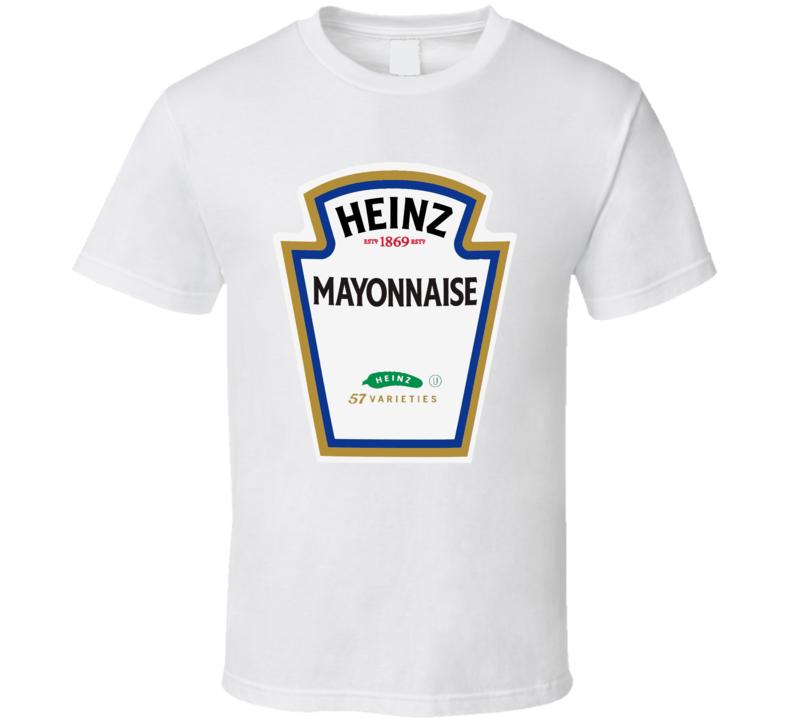 Heinz Mayo Mayonnaise Funny Bottle Logo Halloween T Shirt