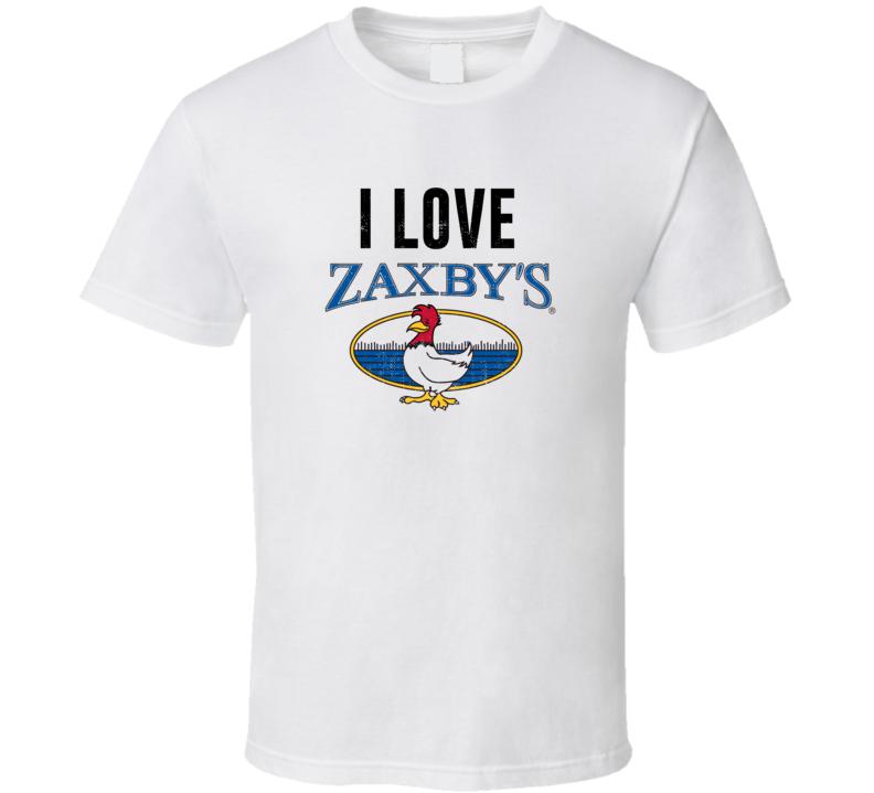 Zaxby's Logo Fast Food Restaurant Fan T Shirt